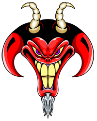 Russ Tafari Demon Logo