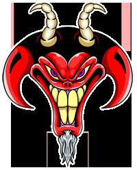 Russ Tafari Demon Logo
