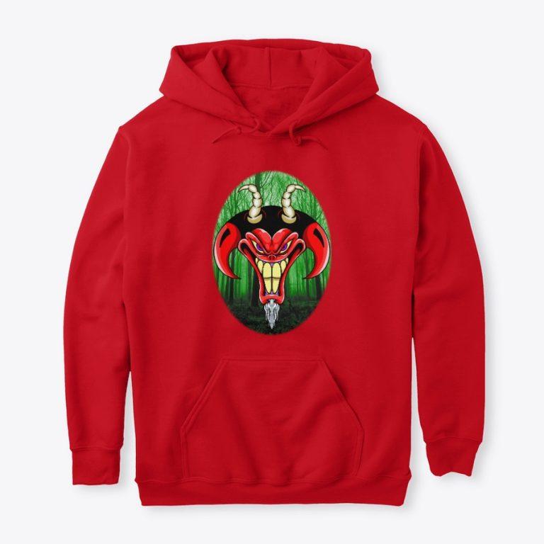Russ Tafari Red hoodie