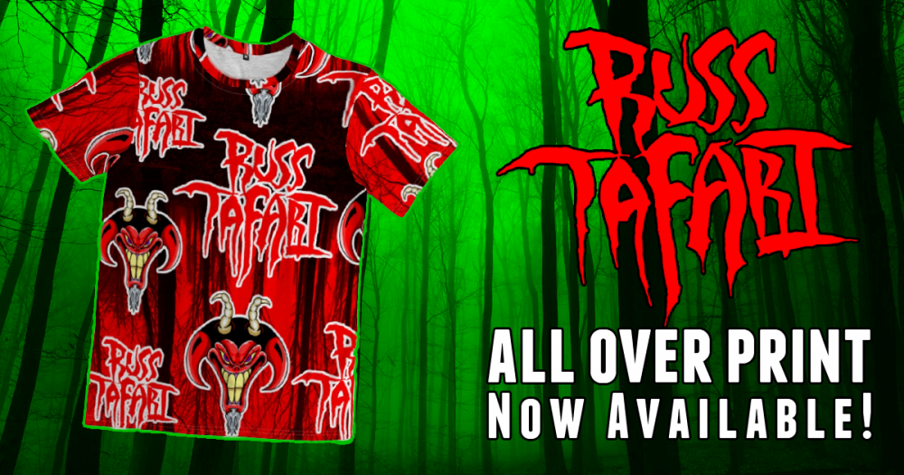 New Russ Tafari all over print t-shirt now available!