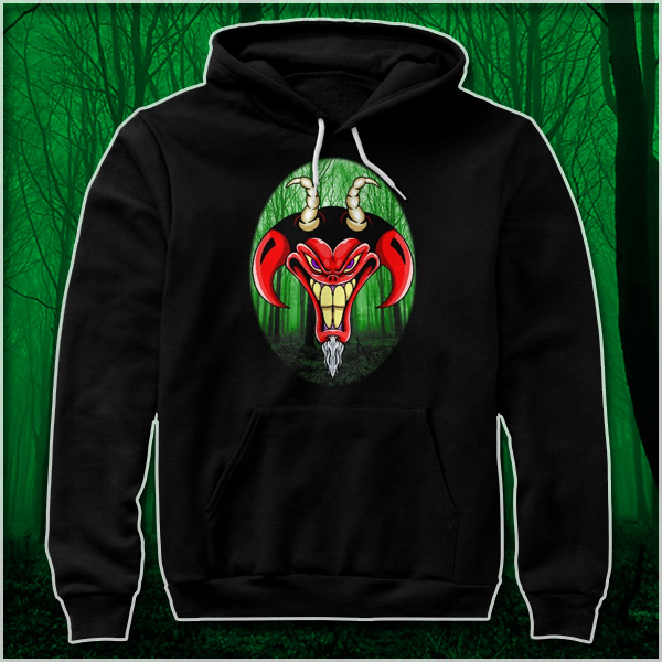 Demon Green Egg Woods Hoodie