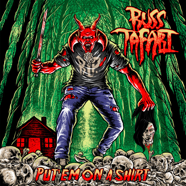 Russ Tafari - Put'em on a shirt