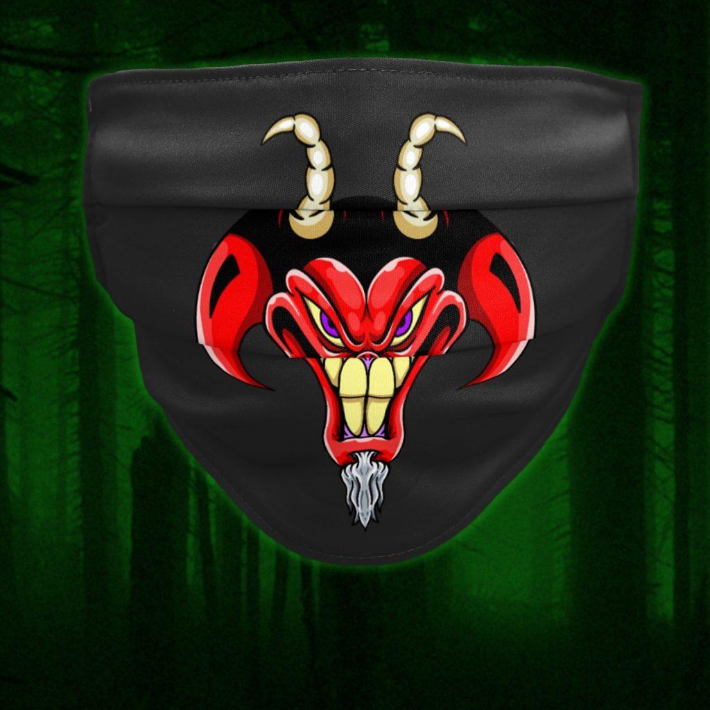 Russ Tafari demon facemask