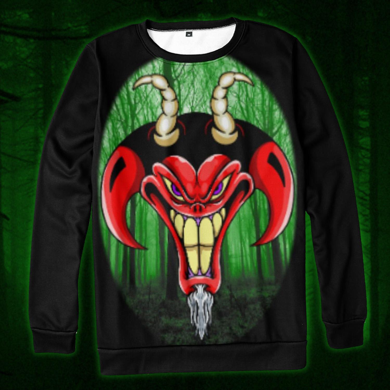 Russ Tafari green egg demon Long Sleeve shirt